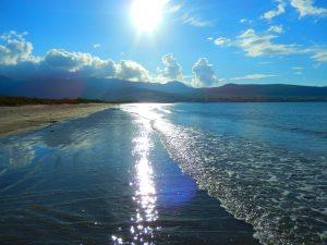 Beach sunset Kerry Ireland Wellbeing Options